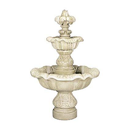 Henri Studio 5 Piece 2-Tier Renaissance Fountain, Natural