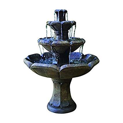 Henri Studio 5 Piece Montreux 3-Tier Fountain, Relic Sargasso