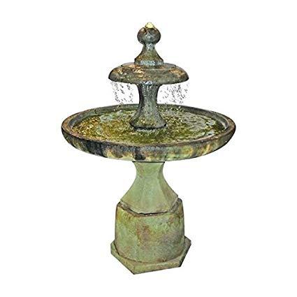 Henri Studio 4 Piece Plateau Fountain, Relic Oak