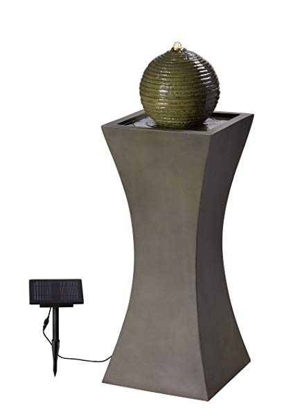 Kenroy Home 51014MS Outdoor Floor Fountain, Natural