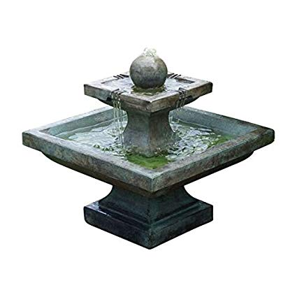 Henri Studio 2 Piece Low Equinox Fountain, Relic Barro